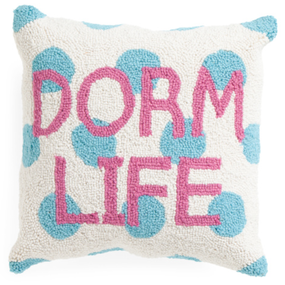 dorm life pillow