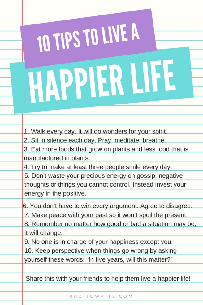 10 Tips to live a happier life-2